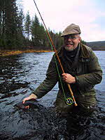 Geir Kjensmo, author from Norway about fly fishing and tying