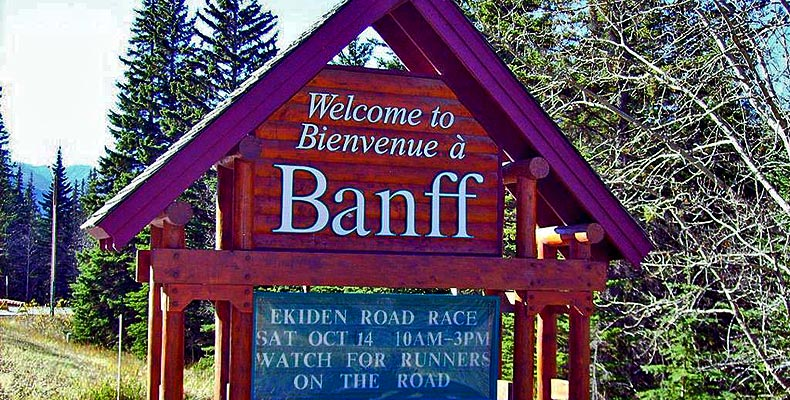 Welcome in Banff