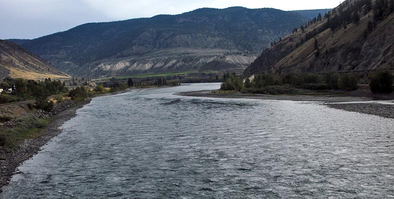 Low water on the Thompson River