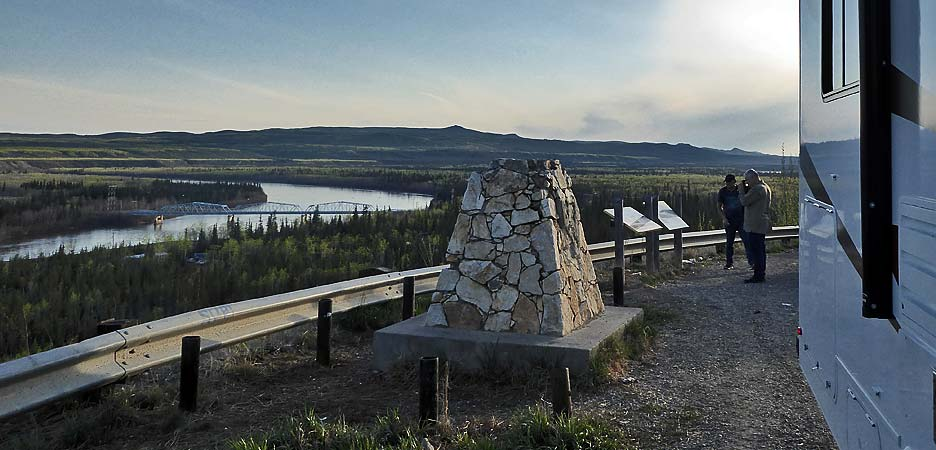 ein Platz im Yukon, Pelly Crossing