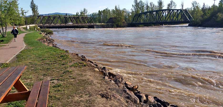 Einer der besten Steelhead Flüsse in BC