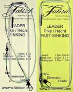 leader pike for fly fishing