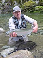 wolfgang fabisch about fly fishing and tying in British Columbia Canada