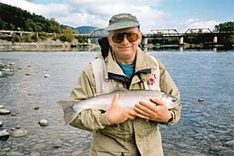 rupert with a skeena coho