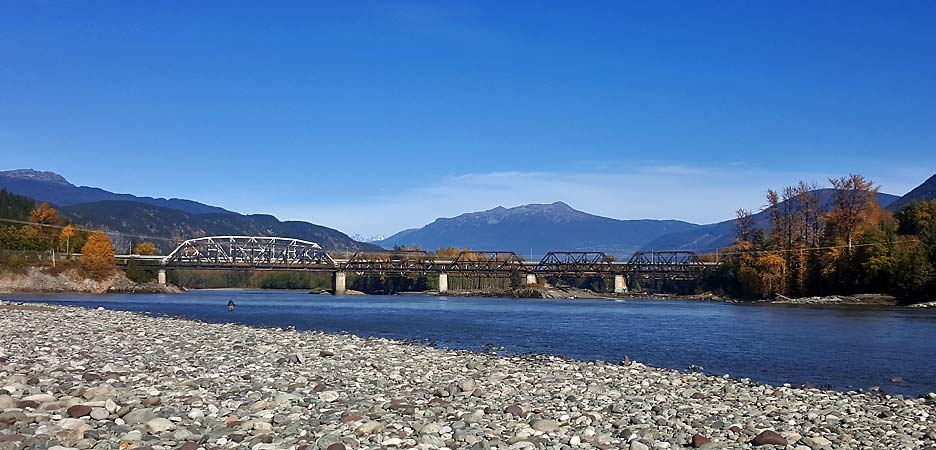 the Skeena River